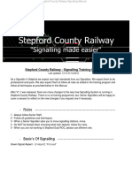 SCR Signalling Booklet V1.1