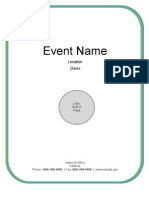 Briefing Book Template
