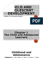 Child and Adolescent Development (93 Slides)