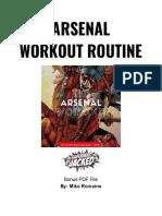 Arsenal Workout PDF