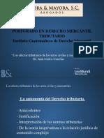 Los Efectos Tributarios de Los Actos Civiles y Mercantiles