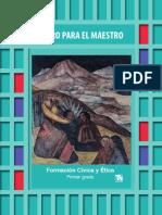 Libro Del Maestro Formacion Civica y Etica Primer Grado