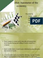 93795276-Stock-Market-Barometer-of-the-Economy-1.ppt