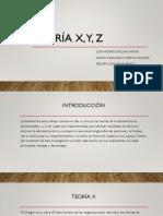 Teoría x y z