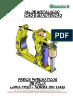 MANUAL DE INSTALAÇÃO FREIOS