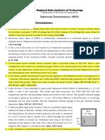 Problem Sheet-03 ME201 1st Law