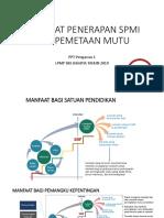 Manfaat SPMI Dan Pemetaan