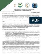 Carta Abierta Al Presidente de La República Sobre El Inminente Riesgo -13!11!2019 (1)