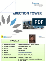 erection tower