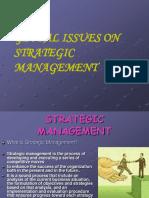 Global Issues in Strategic Mgt.
