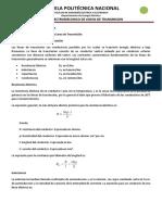 Cálculo de Parámetros de la Línea de Transmisión