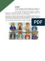 Advocaciones de La Virgen María
