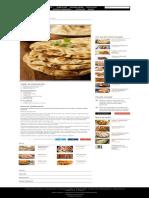 Pâine Naan - Retete Culinare - Romanesti Si Din Bucataria Internationala