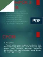 Farmakognosi II Cpotb