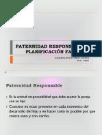 Paternidad Responsable y Planificación Familiar
