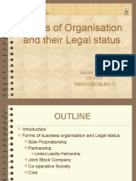 Forms of Organisaation and their Legal status.ppsx