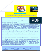 My Favourite Book - Harry Potter-reading Comprehension and Questions