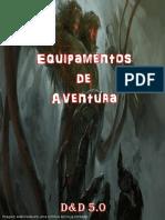 D&D 5.0 - Equipamentos de Aventura