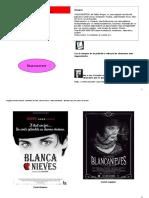 Cartelera de Cine Blancanieves