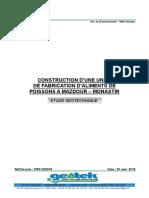 Rapport Géotechnique Construction d'une unité de fabrication d'aliments de poissons à El Mazdour.pdf