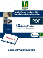 06 - Basic SIP Configuration