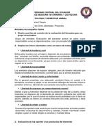 Deber # 2 Evaluación de Las Cinco Libertades - Proyectos Johanna Zapata Almachí