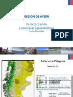 1 Ecorregiones & Riesgo Climático en Aysén