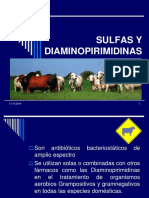 6. Sulfas y Diaminopirimidinas