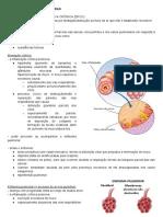 Fisiopatologias respiratórias