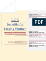 100 Benefits for the Fasting  Women.docx