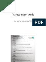 Aramco HSE Exam