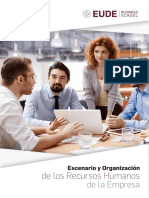 Escenario y organización de los recursos humanos de la empresa. Ebook en PDF