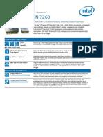 Wireless n 7260 Bluetooth Brief