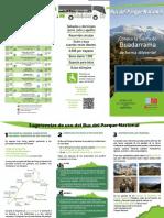 Bus Circular Parque Nacional Guadarrama Junio-julio-Agosto