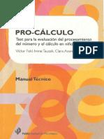Manual Técnico Test (Pro-Cálculo)