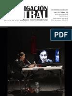 Investigación teatral, vol. 10
