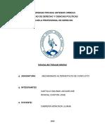 Tribunal arbitral -Grupos de demanda