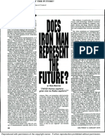 Does Iron Man Represent the Future