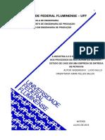 NÃO LIDO Ind 4.0 Representatividade Nos Processos Delivery