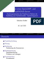 Projektpräsentation Sebastian Deußer