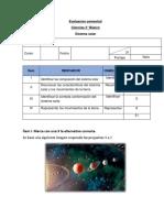 prueba sistema solar