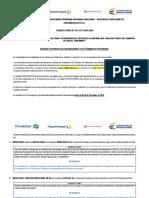 Informe de Respuesta a OBSERVACIONES a Los TDR
