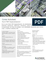 Folleto Autodesk Curso Revit Mep