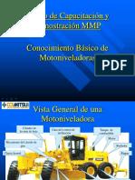 Curso Partes Componentes Motoniveladora Funciones Caracteristicas Aplicaciones Trabajos Operaciones