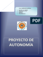 Proyecto de Autonomía 2016-2017cra