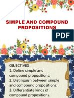 simple and compound propositions