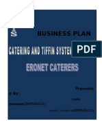 Catering and Tiffin Business Plan (ED)