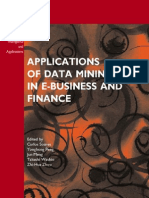 Application of Data Mining in EBusiness & Finance