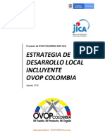 Documento Estrategico OVOP Colombia 2019