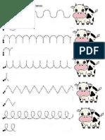 Grafismo de La Vaca